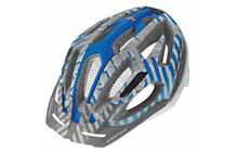 Casque Cratoni C-Flash white-blue-silver matt